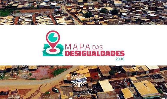 Capa do Mapa das desigualdades 2016 inesc