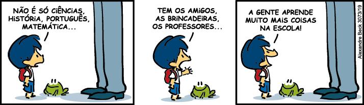 Tirinha Armandinho