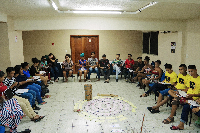 Oficina orçamento e direitos quilombolas em Belém. Foto: Sibely Nunes