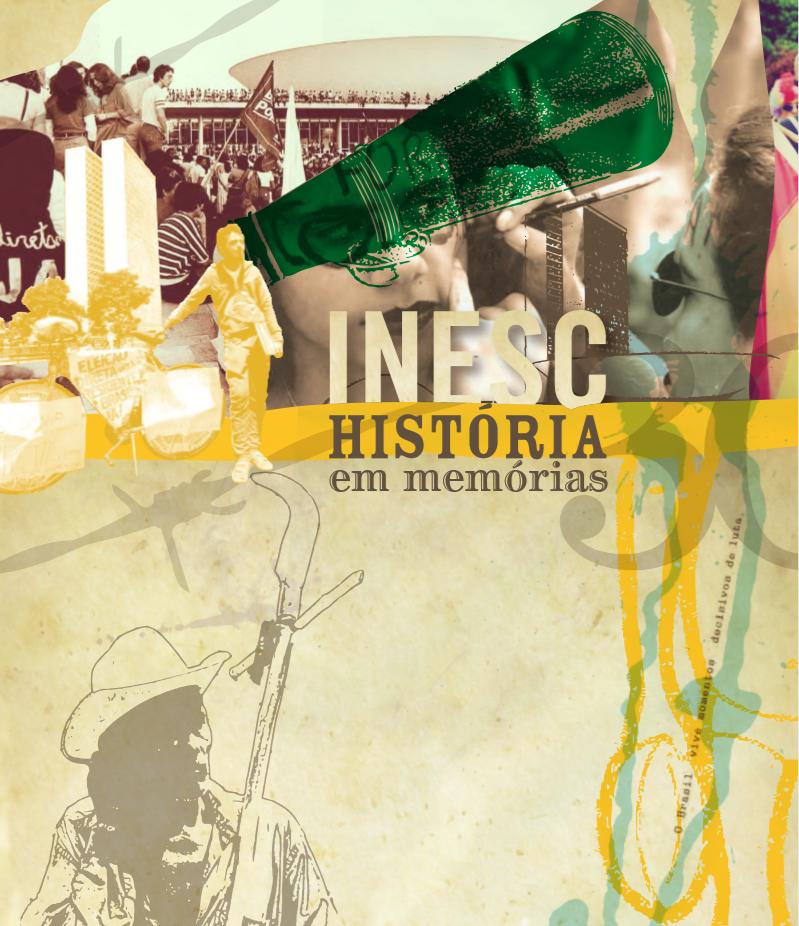 Capa do livro de 32 anos do Inesc: história em memórias